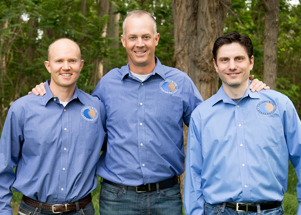 Garth Hatch, Chad Dawson, Matt Schafer, Endodontists at Columbia River Endodontics